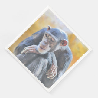 awesome chimp 1016 paper napkins