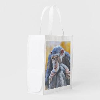 awesome chimp 1016 reusable grocery bag