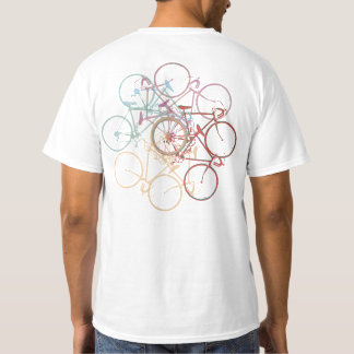 awesome circle tee-stamp of bicycles T-Shirt