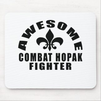 AWESOME COMBAT HOPAK FIGHTER MOUSE PAD