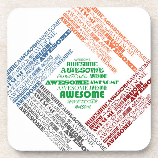 Awesome Beverage Coasters