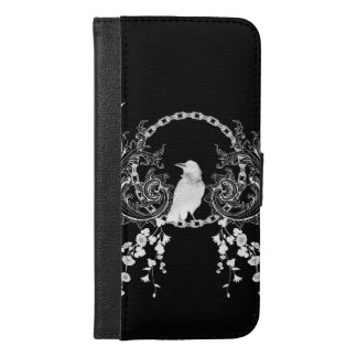 Awesome crow iPhone 6/6s plus wallet case