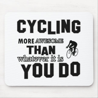 Awesome Cycling designs Mousepad