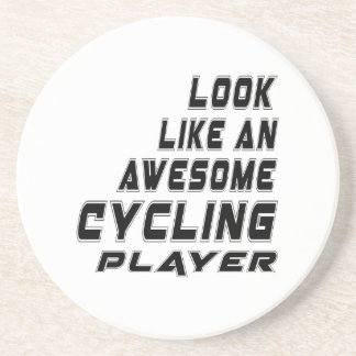 Awesome Cycling Player Coasters