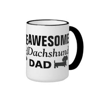Awesome Dachshund Dad Coffee Mug