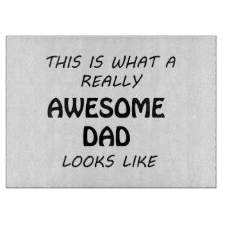 Awesome Dad Cutting Board