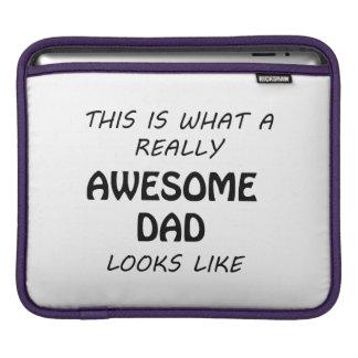 Awesome Dad iPad Sleeve