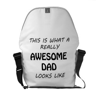 Awesome Dad Messenger Bags