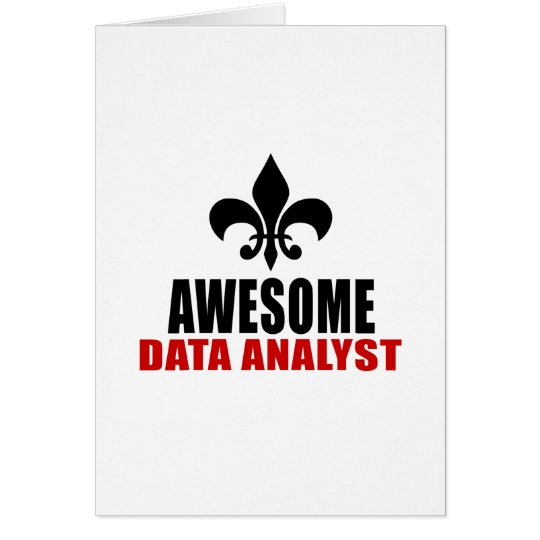 AWESOME DATA ANALYST CARD