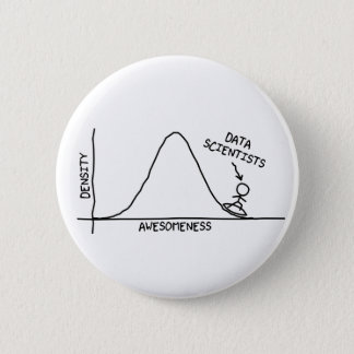 Awesome Data Scientists Button