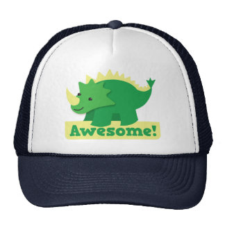 awesome dino cap