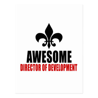 AWESOME DIRECTOR OF DEVELOPMENT POSTCARD