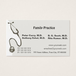 Awesome Doctor  Medical Business Card