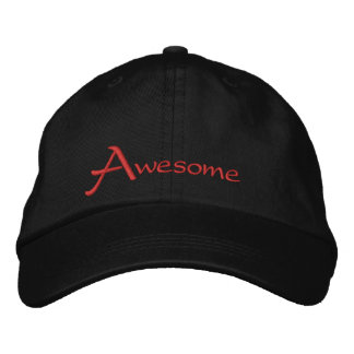 Awesome Embroidered Baseball Cap
