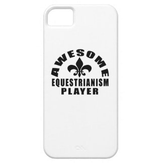 AWESOME EQUESTRIANISM PLAYER iPhone 5 CASES