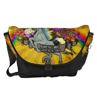 """""""Awesome Explosion"""" Courier Bag"""