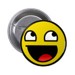 Awesome Face! 6 Cm Round Badge