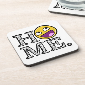 Awesome Face Awesome Home Housewarming Coaster