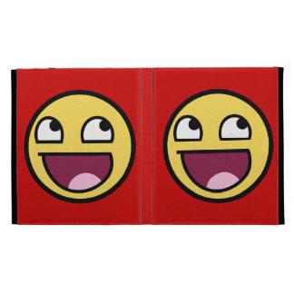 Awesome Face iPad Folio Case