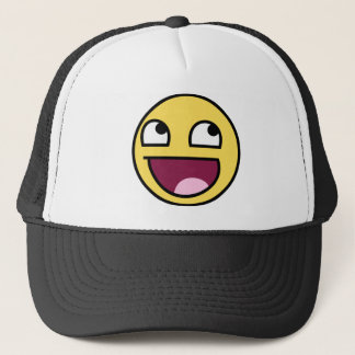 Awesome Face Meme Clothing Trucker Hat