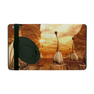 Awesome fantasy world in the sunset cases for iPad