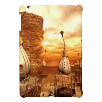 Awesome fantasy world in the sunset cover for the iPad mini