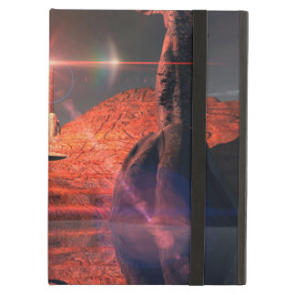Awesome fantasy world with light effects iPad air cover