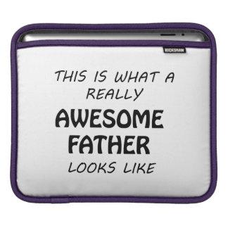 Awesome Father iPad Sleeve