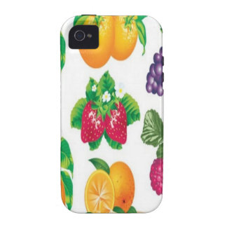 Awesome fruit selection design Case-Mate iPhone 4 cases