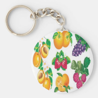 Awesome fruit selection design keychain