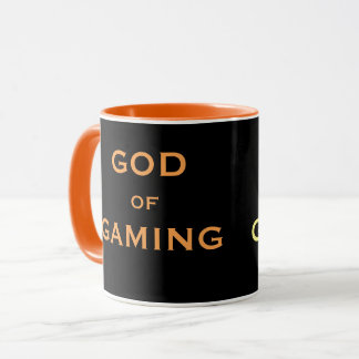 Awesome Gamer Nickname - God of Gaming - Joke Gift Mug