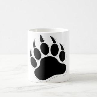 Awesome Gay Bear claw B&W 3D effect Basic White Mug