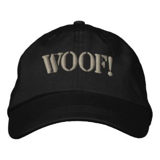 Awesome Gay Bears Pride WOOF! Embroidered Hat