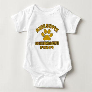 AWESOME GERMAN WIREHAIRED POINTER MOM BABY BODYSUIT