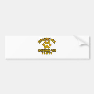AWESOME GERMAN WIREHAIRED POINTER MOM BUMPER STICKER