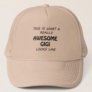 Awesome Gigi Trucker Hat
