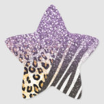 Awesome girly trendy gold leopard and zebra print