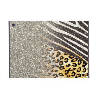 Awesome girly trendy leopard print, zebra stripes case for iPad mini