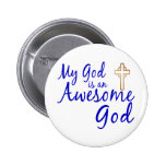 Awesome God Pin