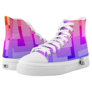 Awesome  Gradient Blocks High Tops