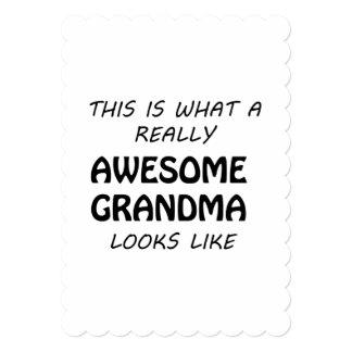 Awesome Grandma Card