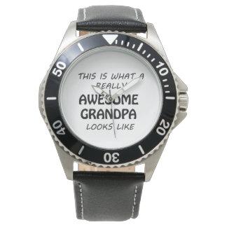 Awesome Grandpa Watch