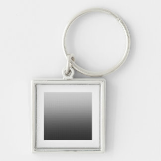 Awesome Grey Ombre Key Chain