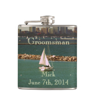 Awesome Groomsmen's Flask