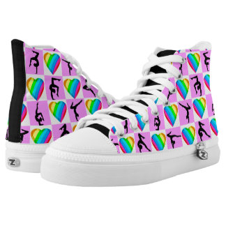 AWESOME GYMNASTICS LOVE SNEAKERS