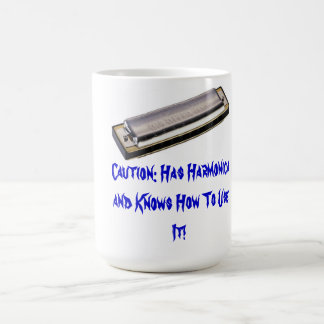 Awesome Harmonica Mug! Coffee Mug