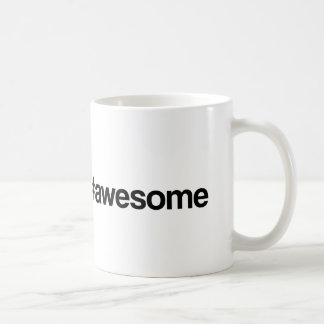 Awesome Hashtag Coffee Mug