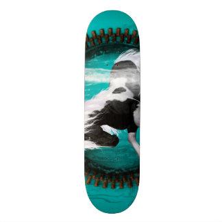 Awesome horse custom skateboard