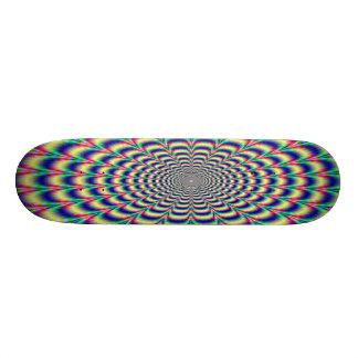 Awesome Hypnotic Skateboard
