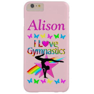 AWESOME I LOVE GYMNASTICS PERSONALIZED PHONE CASE